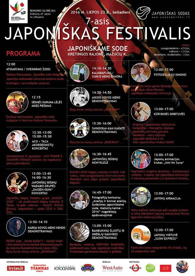 7 festivalis